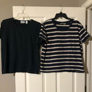 Women's Chico's knit t-shirts